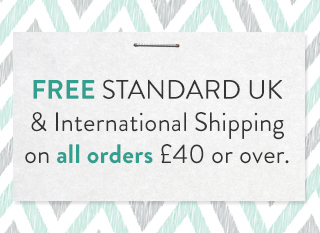 Free Shipping on orders over £40.